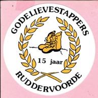 Sticker - 15 Jaar GODELIEVESTAPPERS - RUDDERVOORDE - Stickers