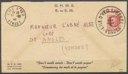 Env. L'ILE D'YEU LIBEREE/VENDEE Sur 1f50 Pétain, Càd 11.10.44 Superbe X5148 - Marcofilia (sobres)