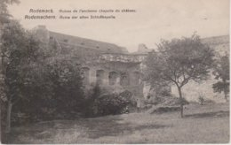 57 - RODEMACK - RUINE DE L'ANCIENNE CHAPELLE DU CHATEAU - France
