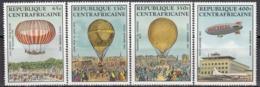 CENTRAL AFRICAN REPUBLIC 938-941,unused,balloons - Zentralafrik. Republik