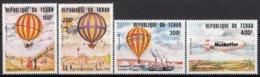 CHAD 962-965,unused,balloons - Chad (1960-...)