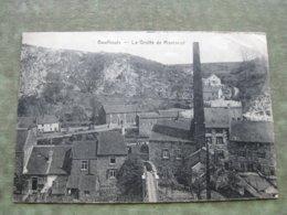 BOUFFIOULX - LA GROTTE DE MONTREUIL 1922 - Châtelet