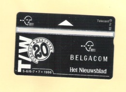 "PHONECARD - BELGIUM BELGACOM P423 ""TORHOUT / WERCHTER"" 604M - MINT/NOT USED - Bélgica"