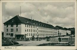 Ansichtskarte Müllheim (Baden) Infanterie-Kaserne 1942 - Muellheim