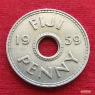 Fiji 1 One Penny 1959 KM# 21 - Fidschi