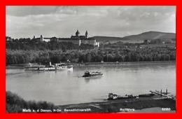 CPSM/pf  MELK (Autriche)  N-Oe. Benediktinerstift., Rollfähre...I472 - Melk