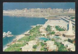 United Arab Emirates UAE Sharjah Picture Postcard Aerial View Sea Said Sharjah View Card - Dubai
