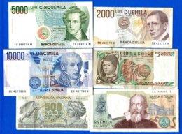 Italie  6  Billets - [ 1] …-1946 : Regno