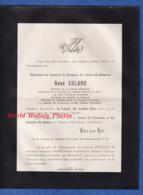 Document Ancien De 1914 - BAR LE DUC (Meuse) - René COLARD , Général De Brigade Du Cadre De Réserve , Officier - 1914-18