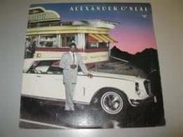 VINYLE ALEXANDER O'NEAL  33 T TABU / CBS (1985) - Vinyl Records
