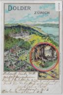 Zürich - Dolder Grand Hotel - Litho Grosser Wildpark Mit Waldrestaurant - ZH Zurich