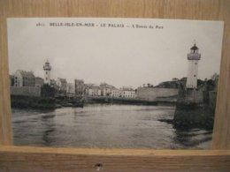 BELLE-ILE-EN-MER  Le Palais Entrée Du Port - Belle Ile En Mer
