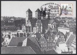Bund BRD - Mi.1645 1993 1200 Jahre Münster Westfalen Maximumkarte   (21628 - Maximum Cards