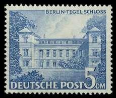 BERLIN DS BAUTEN 1 Nr 60 Postfrisch Gepr. X875F3A - Berlin (West)