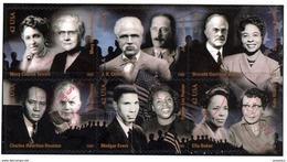 Etats-Unis / United States (Scott No.4384a-f - Civil Rifgts Pioneers) (o) Se Tenant - Etats-Unis