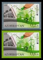 2016Azerbaijan 1140-41Europe CEPT - 2016