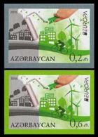 2016Azerbaijan 1140-41bEurope CEPT (edition 200) 70,00 € - 2016
