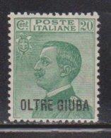 OLTRE GIUBA  Scott # 16 MH - Stamp Of Italy Overprinted - Oltre Giuba