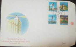 O) 1991 CIRCA, CHINA, LIGHTHOUSE, XF - 1949 - ... République Populaire