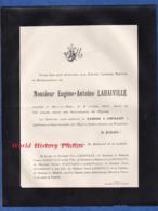 Document Ancien De 1914 - BAR LE DUC (Meuse) - Monsieur Eugène Antoine LAHAIVILLE - 36 Boulevard La Rochelle - Avvisi Di Necrologio
