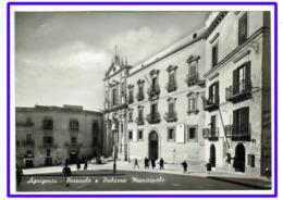 23584  CPM  AGRIGENTO  : Piazzale E Palazzo Municipale  !!   Superbe  Carte Photo !! - Agrigento