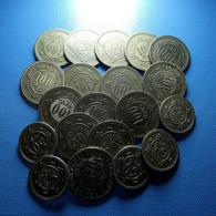 Portugal Lot 20 Coins 50 And 100 Reis 1900 - Kilowaar - Munten