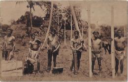Timor Português - Tipos E Costumes (Carregadores) - Have A Cut At Right - East Timor