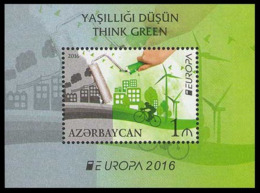 2016Azerbaijan 1142/B164Europe CEPT - 2016