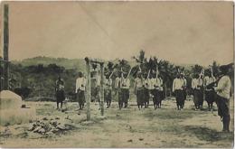 Timor Português - Içando A Bandeira Nacional - Fold Bottom Left Corner - Timor Oriental