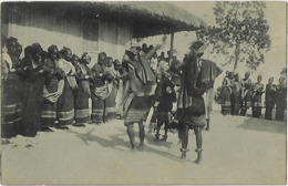 Timor Português - Um Tebedai (Dança Indigena) - Timor Oriental