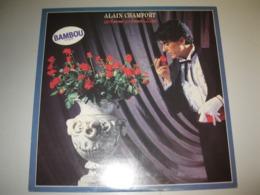 """VINYLE ALAIN CHAMFORT """"AMOUR ANNEE ZERO"""" 33 T CBS (1981) - Vinyl-Schallplatten"""