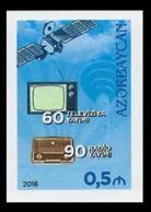 2016Azerbaijan 1143b60 Years Of TV And 90 Years Of Radio Broadcasting (edition 200) - Space
