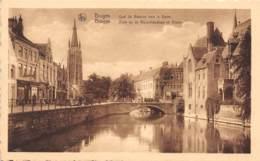 BRUGGE - Zicht Op De Rozenhoedkaai En Dijver - Brugge