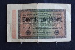 102 /  Allemagne,  [ 3] 1918-1933 : République De Weimar  Reichsbanknote  20000 Mark - 1923   /  N° 0068285 - 50 Mark