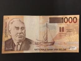 Belgium 1000 Francs 1995-2001 Pick 150 Ref 8228 - [ 2] 1831-... : Koninkrijk België