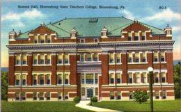 Pennsylvania Bloomsburg Science Hall Bloomsburg State Teachers College - United States