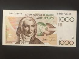 Belgium 1000 Francs 1980  Pick 144 Rare  Ref 6688 - [ 2] 1831-... : Koninkrijk België