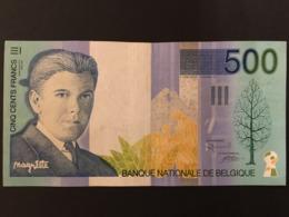 Belgium 500 Francs 1995 Pick 149 Ref 0449 - [ 2] 1831-... : Koninkrijk België