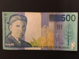 Belgium 500 Francs 1995 Pick 149 Ref 0940 - [ 2] 1831-... : Koninkrijk België