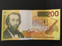 Belgium 200 Francs 1995 Pick 148 Ref 6655 - [ 2] 1831-... : Koninkrijk België