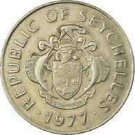 Monnaie, Seychelles, Rupee, 1977, British Royal Mint, TB+, Copper-nickel, KM:35 - Seychelles