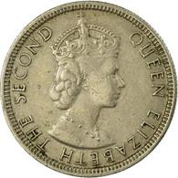 Monnaie, Mauritius, Elizabeth II, 1/4 Rupee, 1971, TB+, Copper-nickel, KM:36 - Mauricio