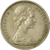 Monnaie, Australie, Elizabeth II, 5 Cents, 1968, Melbourne, TB+, Copper-nickel - Victoria
