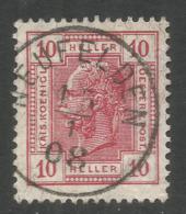 AUSTRIA. 10h USED NEUFELDEN. - 1850-1918 Empire