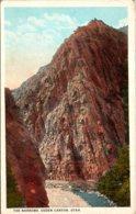 Utah Ogden Canyon The Narrows Curteich - Ogden