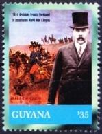 Guyana 2000 MNH, 1914 Ferdinand Assassinated World War I Begins    ( - WW1