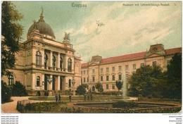 OSTERREICH AUTRICHE. Troppau Museum Mit Lehrerbildungs Anstalt 1906 - Autriche
