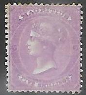 Mauritius  1863  Sc#41    5sh  Victoria Probably  MNG   2016 Scott Value $260 - Mauritius (...-1967)