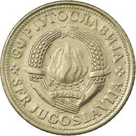 Monnaie, Yougoslavie, 2 Dinara, 1977, Melbourne, TB+, Copper-Nickel-Zinc, KM:57 - Victoria