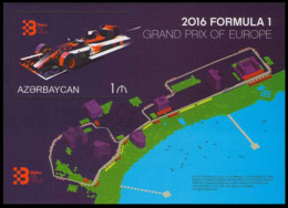 2016Azerbaijan 1165/B169Formula 1. European Grand Prix - Cars